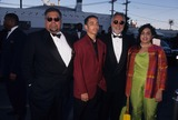 Train Photo - Danny Bakewell with Son Jamie Brooks Bakewell  Bernard Charbonet and Kay Charbonet at 11th Soul Train Awards in Los Angeles 1997 K7999lr Photo by Lisa Rose-Globe Photos Inc