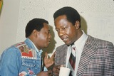 Flip Wilson Photo - Flip Wilson with Hanr Aaron 1973 M2296b Photo by Richard Nairin-Globe Photos Inc