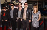 Airborne Toxic Event Photo - The Airborne Toxic Event attends the Premiere of Going the Distance at the Chinese Theater in Hollywoodca on August 232010 K65692pr Phil Roach -Ipol- Globe Photos