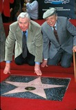 Andy Griffith Photo - Hollywood Walk of Fame Star Ceremony Hollywood California 01-19-2000 Photo by Tammie Arroyo-ipol-Globe Photos Inc 2000 Don Knotts and Andy Griffith
