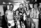 Allman Brothers Photo - Allman Brothers Reunion at Central Park L-r J Johannson Dickie Betts Greg Allman Butch Trucks Phil Walden (Head of Capricorn Records) 8161978 Supplied by Globe Photos Inc Stagebandreq