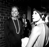 Neile McQueen Photo - Cyd Charisse and Neile Mcqueen a1058-20a Nate CutlerGlobe Photos Inc
