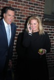 ANN ROMNEY Photo - Mitt Romney and Ann Romney Leaving at Late Night with David Letterman Show Ed Sullivan Theater New York City 03-02-2010 Photo by William Regan-Globe Photos Inc