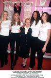 Karen Mulder Photo -  Victorias Secret and Miramax Announce Partnership to Benefit Amfar Victoria Secret NYC 02092000 Karen Mulder Heidi Klum Dr Mathilde Krim Tyra Banks and Stephnie Seymour Photo by John BarrettGlobe Photosinc