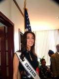 Amelia Vega Photo - PRESS CONFERENCE TO ANNOUNCE OPERATION TRIBUTE TO FREEDOM STAND PROUD AND TALL ON JULY 4 2003 CELEBRITIES WILL BE IN FORT DIX NJ FOR AN EXCLUSIVE MORALE AND RECREATION EVENT TO SUPPORT US TROOPS AND THEIR FAMILIESEMPIRE STATE BUILDING NEW YORK CITY 07022003PHOTO BY MITCHELL LEVYRANGEFINDERGLOBE PHOTOS INCK31564MLMISS UNIVERSE AMELIA VEGA