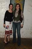 Carmen Llywellyn Photo -  Mary Steenburgen Presents the Works of Artist America LA CA 02212002 Mariah Obrian and Carmen Llywellyn Photo by Amy GravesGlobe Photosinc