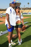 Aylin Mujica Photo - Michael Clarke Duncan and Aylin Mujica - 49th Hollywood Stars Baseball Game - Dodger Stadium Los Angeles California - 06-09-2007 - Photo by Nina PrommerGlobe Photos Inc 2007