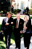 James Stewart Photo - Bob Hope with Wife Dolores at Funeral For James Stewart in Beverly Hills 1977 30888fb Fitzroy BarrettGlobe Photos Inc Bobhoperetro Bobhopeobit
