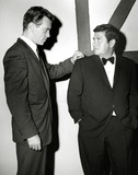 Buddy Hackett Photo - Buddy Hackett and Skip Homeier in Dan Raven 1960 Photo by SmpGlobe Photos Inc Buddyhackettretro