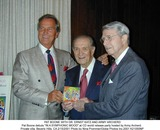 Army Archerd Photo - Pat Boone with Dr Ernst Katz and Army Archerd Pat Boone Debuts in a Symphonic Mood at Cd World Release Party Hosted by Army Archerd Private Villa Beverly Hills CA 2152001 Photo by Nina PrommerGlobe Photos Inc2001