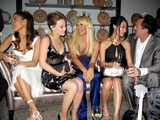 Alice Kim Photo - Versace Boutique Re-opening Party in Their Vip Room at 647 5th Ave New Yirk City 02-07-06 Photo by Jbarrett-allen-Globe Photoinc Jennfer Lopez  Hilary Duff Donatella and Alice Kim and Nicolas Cage