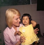 Mai Britt Photo - May Britt and Daughter Tracy Davis Photo Bernard AbramsonGlobe Photos Inc