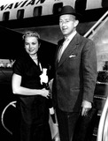 Alec Guinness Photo - Grace Kelly and Alec Guinness Photo Imapress  Globe Photos Inc