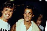 Andrew Ridgeley Photo - George Michael and Andrew Ridgeley of Wham 091984 Photo by Globe Photos Inc