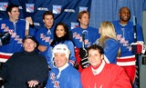 Amani Toomer Photo - K35139MLSUPERSKATE VIA CELEBRITY HOCKEY EVENT TO BENEFIT RANGERS CHEERING FOR CHILDREN AND CRPF AT MADISON SQUARE GARDEN IN NEW YORK CITY1252004PHOTO BYMITCHELL LEVYRANGEFINDERSGLOBE PHOTOS INC  2004CHRISTOPHER REEVE DAVID BOREANAZ TIA TEXADAWILL DEVRY CRYSTAL HUNT AND AMANI TOOMER