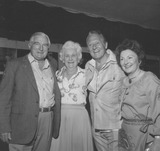 Art Linkletter Photo - Art Linkletter with Wife Lois Foerster  Charles Court and Wfie  2883 Supplied by Globe Photos Inc Artlinkletterretro