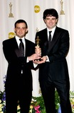 Alejandro Amenabar Photo - 77th Annual Academy Awards (Press Room) at the Kodak Theatre CA 2-27-2005 Photo Byfitzroy Barrett-Globe Photos Inc 2005 Alejandro Amenabar and Fernando Bovaira