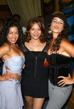 Alisa Reyes Photo - - Open Your Eyes Magazine Party - the Conga Room Los Angeles CA - 07232003 - Photo by Milan Ryba  Globe Photos Inc 2003 - Deliah Cotto Christine Carlo and Alisa Reyes