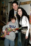 Amy Lee Photo - Gibson Guitar Paint For Pep Charity Event at the Gibson Baldwin Showroom Beverly Hills CA 12-04-2004 Photo by Jaimie Rodriguez  RangefinderGlobe Photos Inc 2004 Greg Grunberg and Amy Lee and His Son Jake