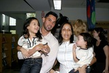 Angel Pagan Photo - The New York Mets and Citi Participate in New York Citys Summer Reading Program with Two NY Mets Angel Pagan with His Wife and Daughters at the Brooklyn Public Library Brooklyn NY 07-28-2009 Photo by Bruce Cotler -Globe Photos Inc 2009