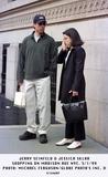Jerry Seinfeld Photo - 050199 Jerry Seinfeld  Jessica Sklar Shopping on Madison Ave NYC Photo Michael FergusonGlobe Photos Inc
