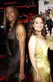 Swin Cash Photo - Be Cool World Premiere Held at the Craumans Chinese Theatre on February 14 2005 in Hollywood CA Swin Cashkimberly Brown Photo Byvalerie Goodloe-Globe Photos Inc 2005