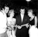 Burt Reynolds Photo - Burt Reynolds Lou Nelson Jack Holly Jr and S Thomas Globe Photos Inc