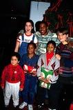 Merlin Santana Photo - Whitney Houston Christmas Party Alison Fanelli Alan Schwartz Photo by Lisa RoseGlobe Photos Inc 1994 Merlin Santana Obit