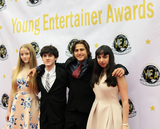 Aaron Landon Photo - Liv SouthardWilliam LeonAaron Landon and Sara Rochelle arrive at the 1st Annual Young Entertainer Awards